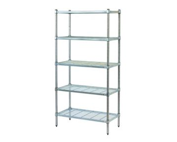 Post Style with Wire Shelving